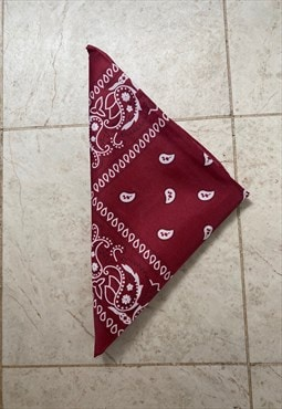 Bandana - Dark Red