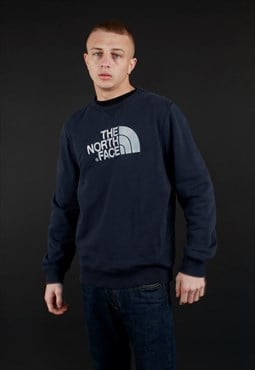 00s The North Face spell out sweatshirt