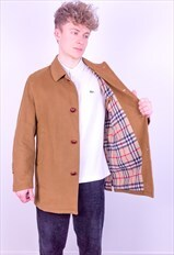 Vintage Burberry Nova Check Jacket in Beige