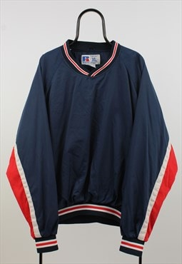 Russel Athletic Vintage Navy Tracksuit Top