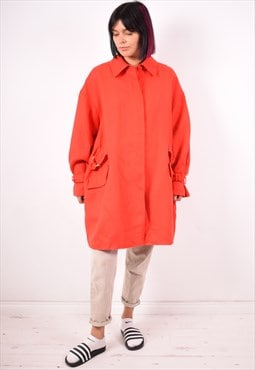 Valentino Womens Vintage Coat XL Red 90s