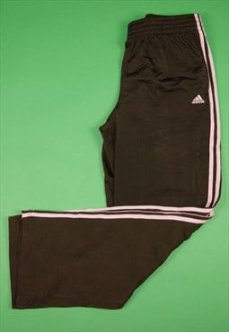 Vintage 00s / Y2K Adidas Track Pants / Tracksuit Bottoms