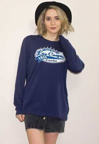NEW LEE COOPER T-SHIRT SWEATER