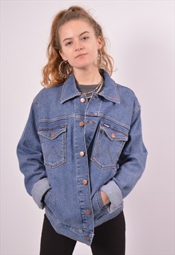 Vintage Wrangler Denim Jacket Blue