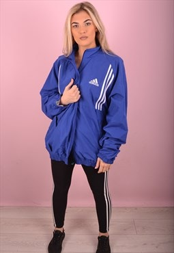 Blue Adidas Shell Jacket GTJ3579