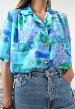 vintage shirt one size printed