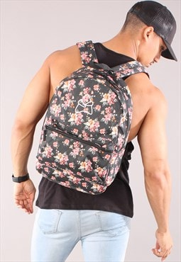 Retro Backpack - Floral