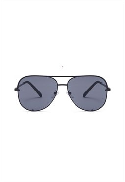 Rachael Aviator Sunglasses Black