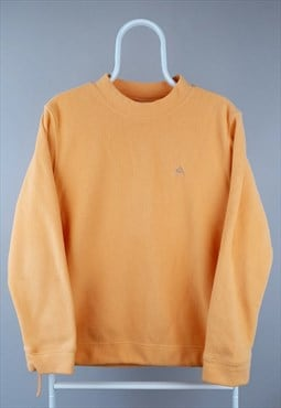 Vintage Adidas fleece 90s sweatshirt pastel orange peach