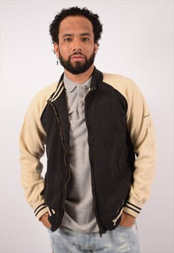 Vintage Champion Tracksuit Top Jacket Black