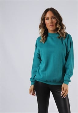 Sweatshirt Jumper Oversized PLAIN UK 12 Coloured (BI5H)