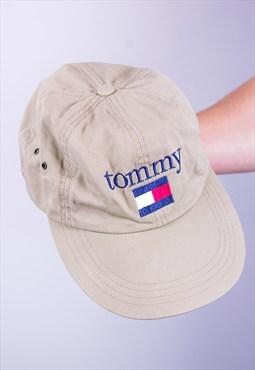 Vintage Tommy Hilfiger Cap in Beige
