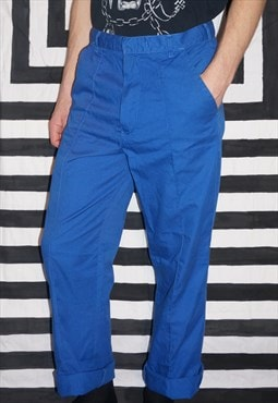 Vintage 90's Blue Worker Trousers