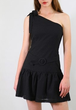 Anastasia Dress - black