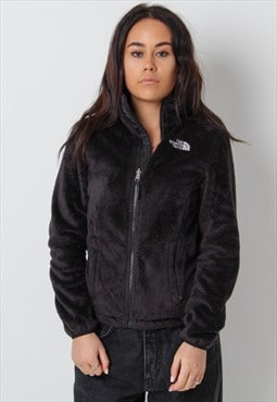 Vintage The North Face Fluffy Fleece in Black Small
