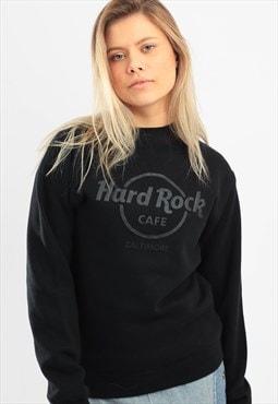 Vintage Hard Rock Cafe Sweatshirt Black