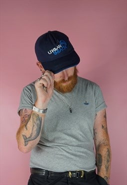 vintage 1990s urban beach blue cap