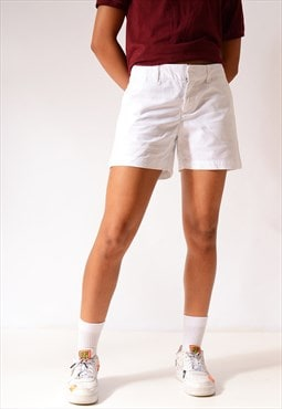 Vintage Tommy Hilfiger Chino Shorts White