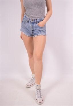 Vintage Levi's Denim Shorts Blue