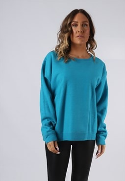 Sweatshirt Jumper Oversized PLAIN Coloured UK 16 (CI5C)
