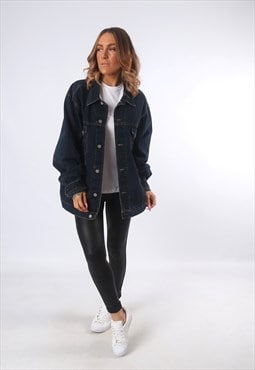 Denim Jacket Oversized Fitted UK 20 - 22 (EEAF)