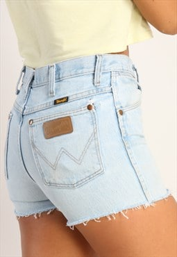 Vintage Wrangler high waisted reworked denim shorts X150