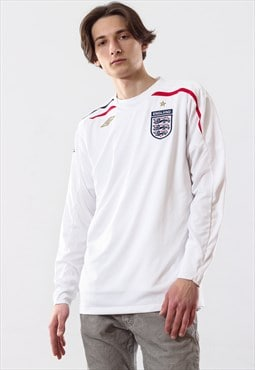Vintage Mens UMBRO England Training Top Jersey Shirt