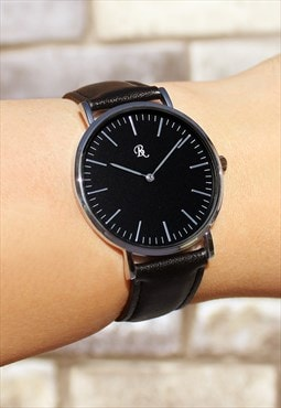 Exclusive Slim Silver Watch