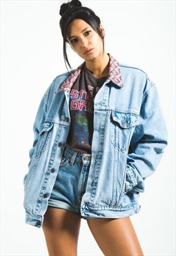 Vintage 80s Reworked Collar Levi's Denim Jacket / 0185