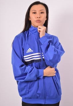 Vintage Adidas Tracksuit Top Jacket Blue