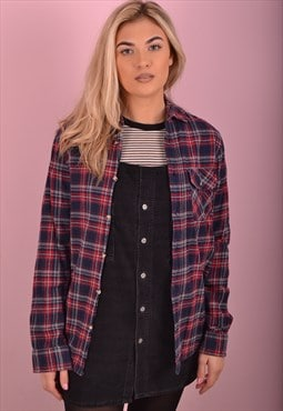 Blue Check Flannel Shirt GRS1192