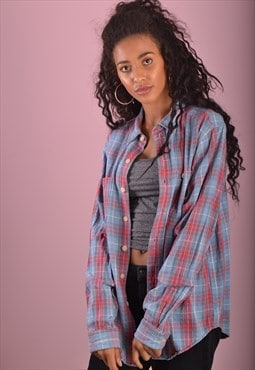 Blue Ralph Lauren Flannel Check Shirt GRL3174
