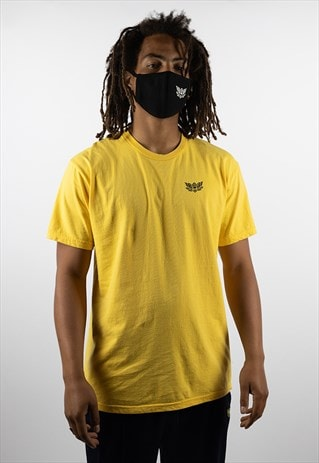 All Lies Graphic Tee - Yellow