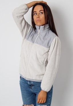 Vintage The North Face Fleece in White XS