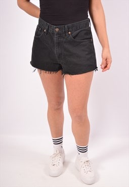 Vintage Levi's 751 Denim Shorts Black