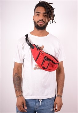 Lee Mens Vintage Waist Bag One Size Red 90s