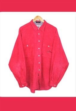 Vintage 90's Red Corduroy Shirt (Ref:15/5)