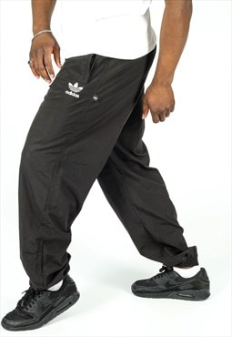 Vintage Adidas Tracksuit Bottoms in Black