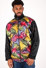 Vintage Pattern Bomber Jacket NJ1824