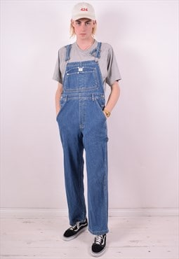 Calvin Klein Mens Vintage Denim Dungarees Medium Blue 90s