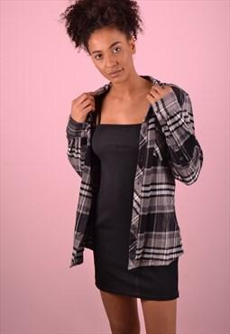 Grey Check Flannel Shirt GRS1268