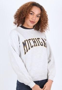 Vintage Light Grey Sweatshirt Russell Athletic