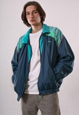 90s Vintage Mens ELLESSE Aztec Windbreaker Track Suit Jacket