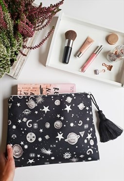 The Spellbound moon and stars personalised Pouch Bag