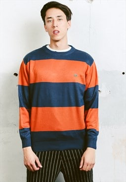 Vintage Striped LACOSTE Jumper