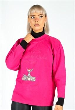 Vintage Benetton Sweatshirt in Pink