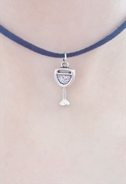 wine glass choker