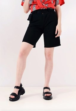 Vintage Dickies's Straight Workwear Shorts Black