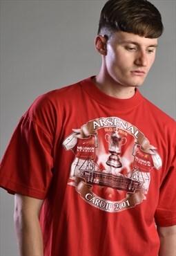Vintage 2001 Arsenal Football T-shirt
