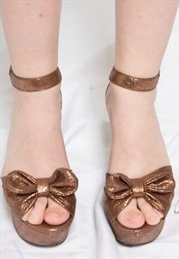 Glitter Cooper Show Gal Sandals
